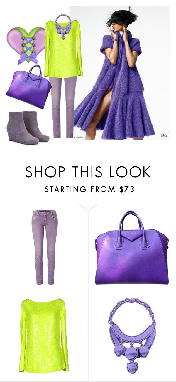 """""""Untitled #1386"""" by vronvron ❤ liked on Polyvore featuring Givenchy, Blumarine and Curated"""