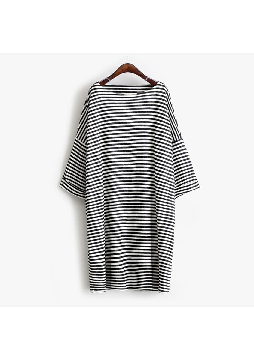 Long black dress size 8 hip