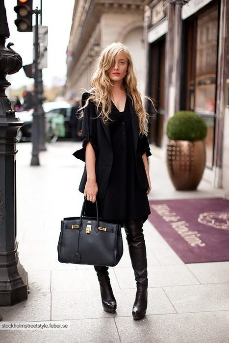 e96b0307eb1 How To Wear Thigh-High Boots  5 Tips for Looking Totally Chic