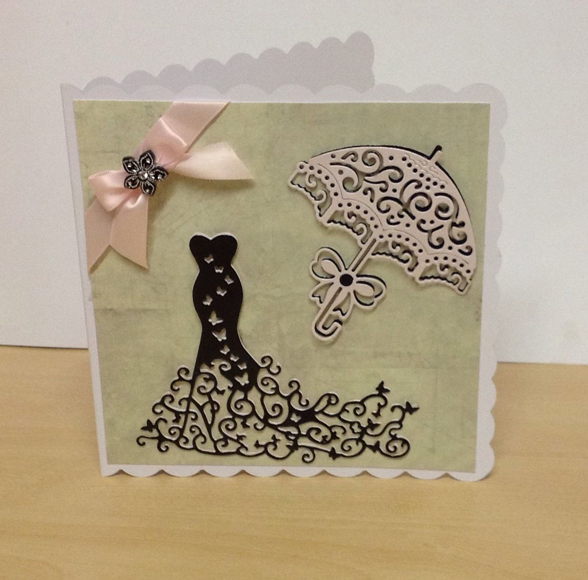 Card Making Ideas Using Tattered Lace Dies Part - 46: Card Using The Tattered Lace Dies