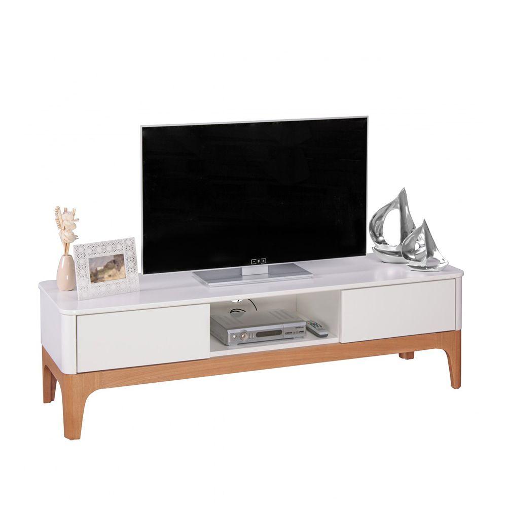 TV Board in Weiß Esche 150 cm breit Jetzt bestellen unter: https ...