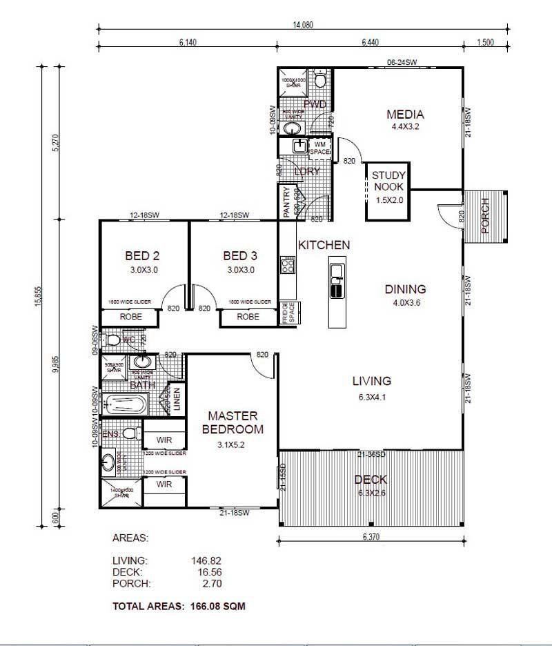 plano-de-casa de un piso y más de 150 m2 new house plans - plan petite maison 70 m2