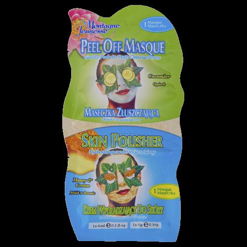 Gesichtsmaske Duo Gurke/Honig+Creme