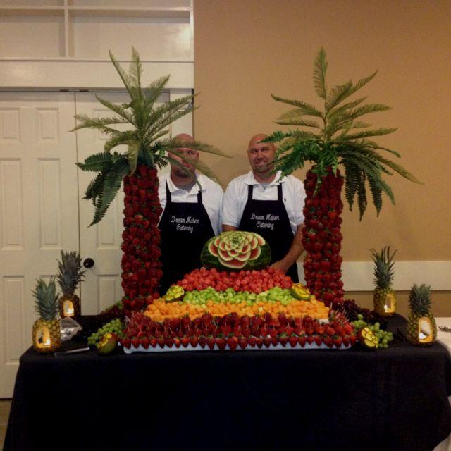 Wedding reception fruit display | Wedding | Pinterest | Fruit ...