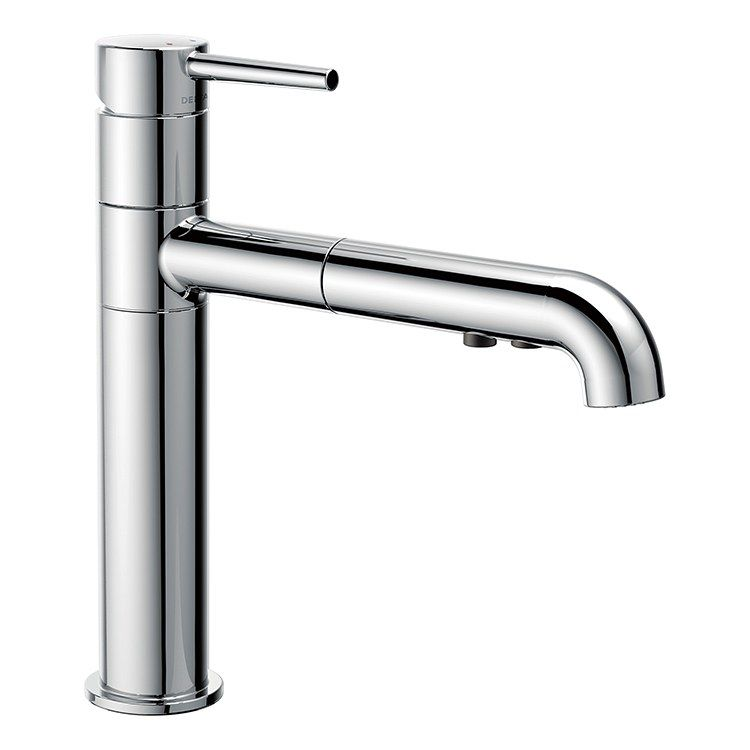 Delta 4159 Dst Trinsic Single Handle Pull Out Kitchen Faucet
