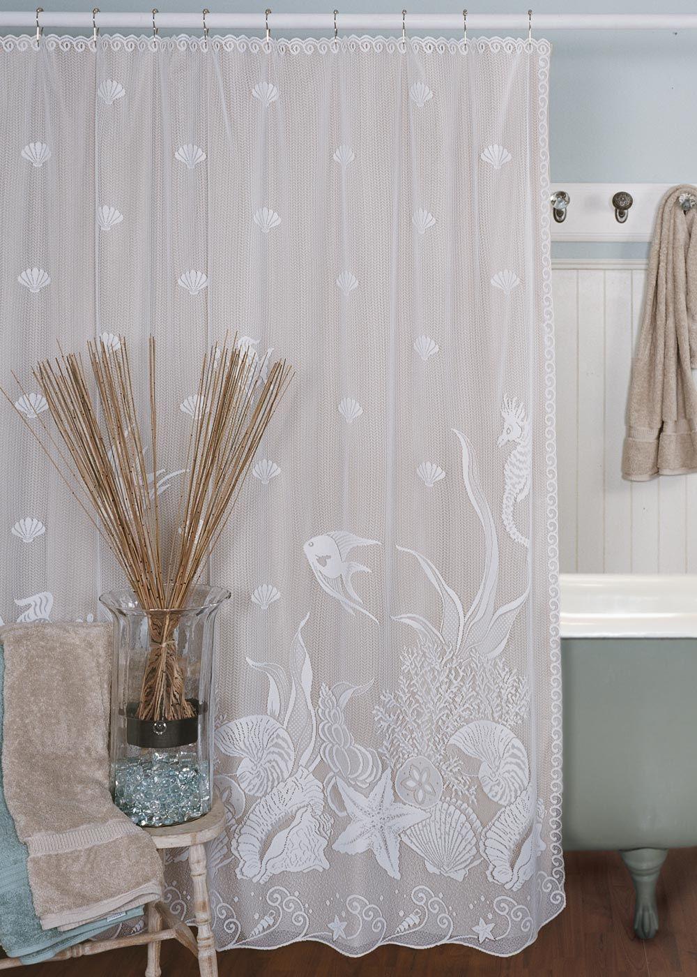 White lace shower curtain legalizecrew pinterest