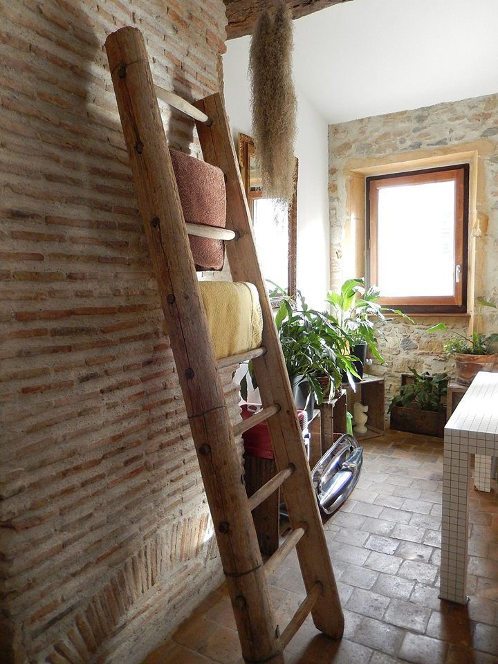 echelle bois d co loft 1900 d coration pinterest ladder et dressing. Black Bedroom Furniture Sets. Home Design Ideas