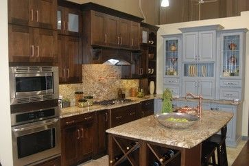 Kemper Showroom Vignette transitional-kitchen
