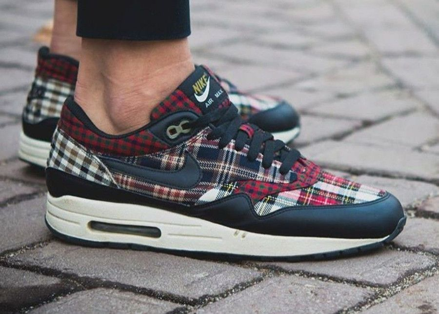 the cheapest brand new lower price with nike-wmns-air-max-1-tartan-plaid-2008 | Nike air max, Chaussure ...