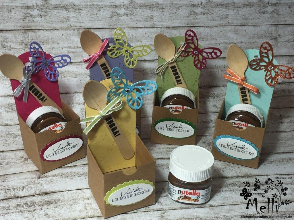 Nutella Jar Cake Tutorial