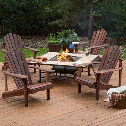 Belham Living Richmond Deluxe 5 Piece Adirondack Chair ... on Belham Living Richmond Bench id=70446