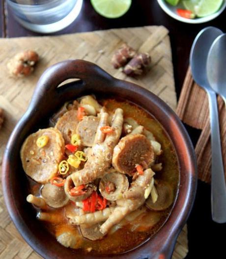 Resep Seblak Ceker Kuah Santan Makanan Dan Minuman Makanan Pedas Ide Makanan