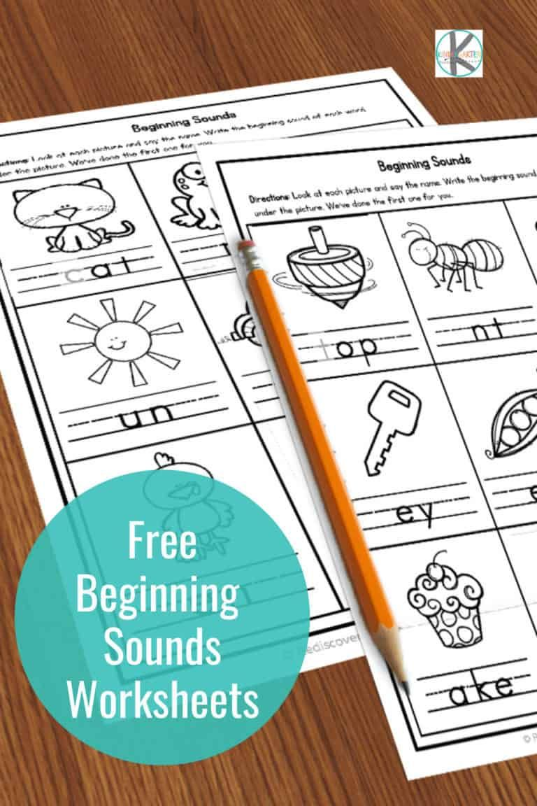 hight resolution of Free printable beginning sounds worksheets are perfect for early readers…    Beginning sounds worksheets