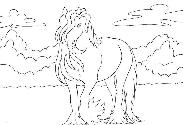 Bibi Und Tina Ausmalbilder Kids Ausmalbildertv Ausmalbilder Pferde Malvorlagen Pferde Pferd Ausmalen