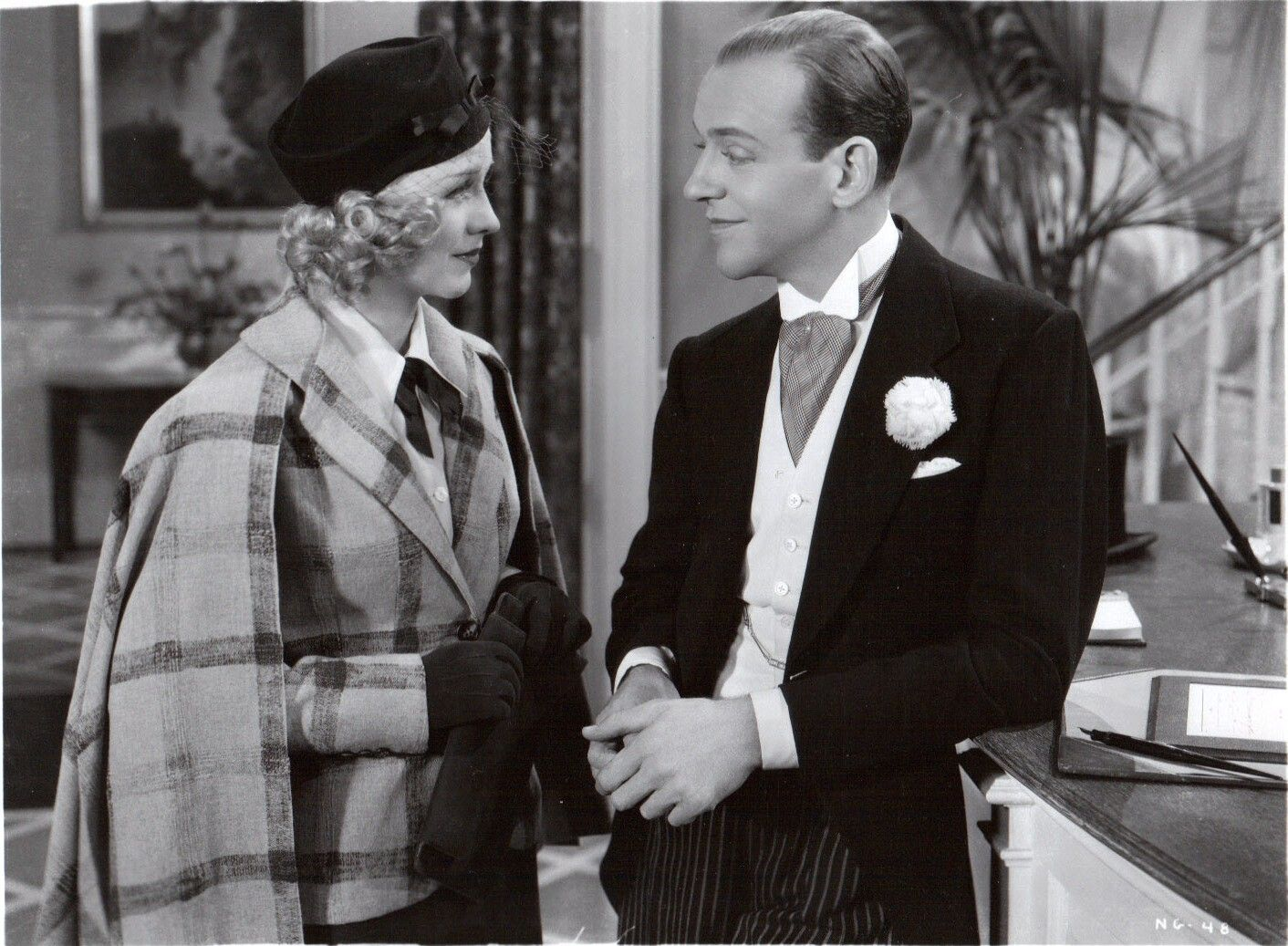 Ginger Rogers Swing Time 1936 Fred and ginger