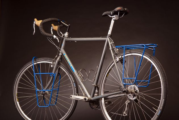 Review Bruce Gordon Basic Loaded Touring Bicycle Times Magazine
