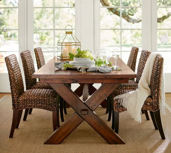 Toscana Extending Dining Table Alfresco Brown #potterybarn  Home Fascinating Extendable Dining Room Sets Review
