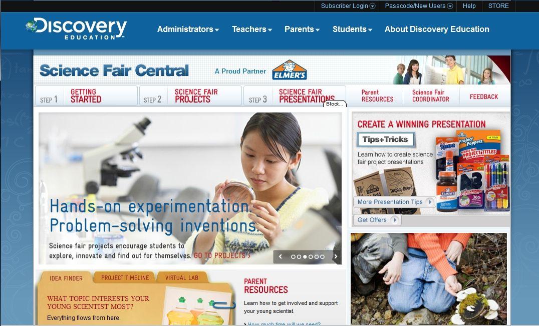 Discovery Education Science Fair Central Science fair