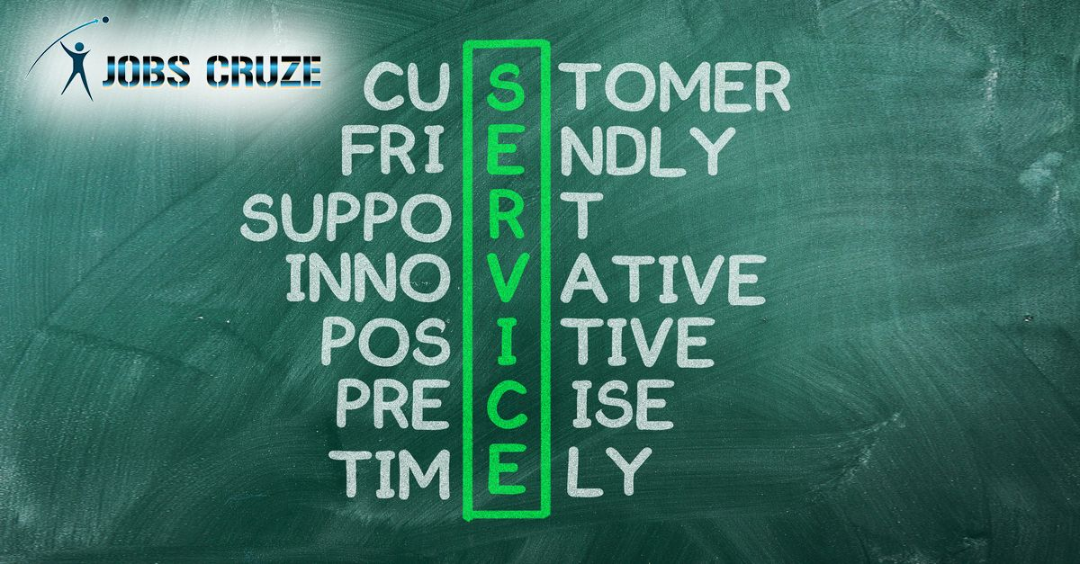 If you are looking for your career in customer service