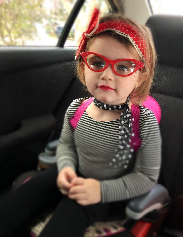 Pin up costume toddler, 50's costume, kids pinup, kids 50 ...