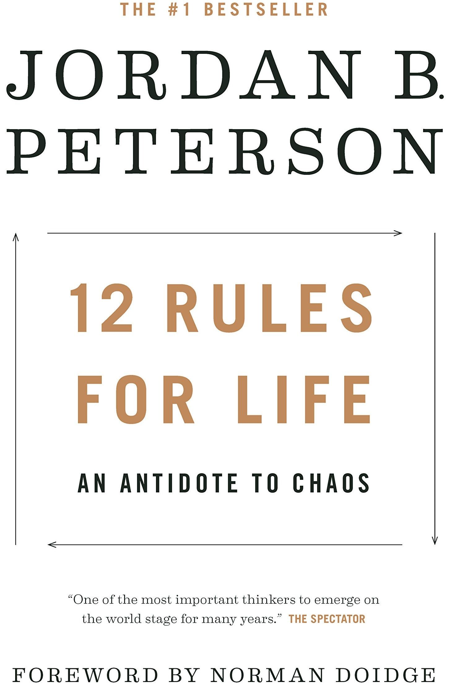 12 Rules For Life An antidote to chaos is a selfhelp