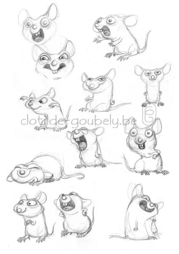 Mouse on Behance | Mice | Pinterest | Mice, Behance and Characters