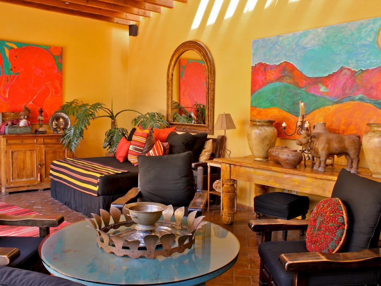Mexican Style Home Decor Carole Meyer Mexican Outdoor Living Room Mexican Living Rooms Mexican Style Homes Mexican Home Decor