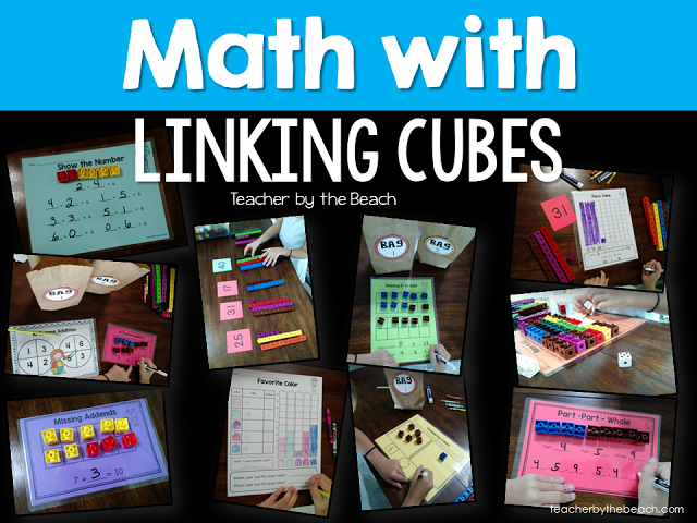 Math with Unifix Cubes LOTS of activities to cover