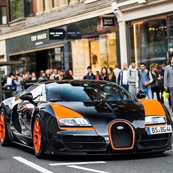 Lamborghini Bugatti: Bugatti Veyron By @xricox