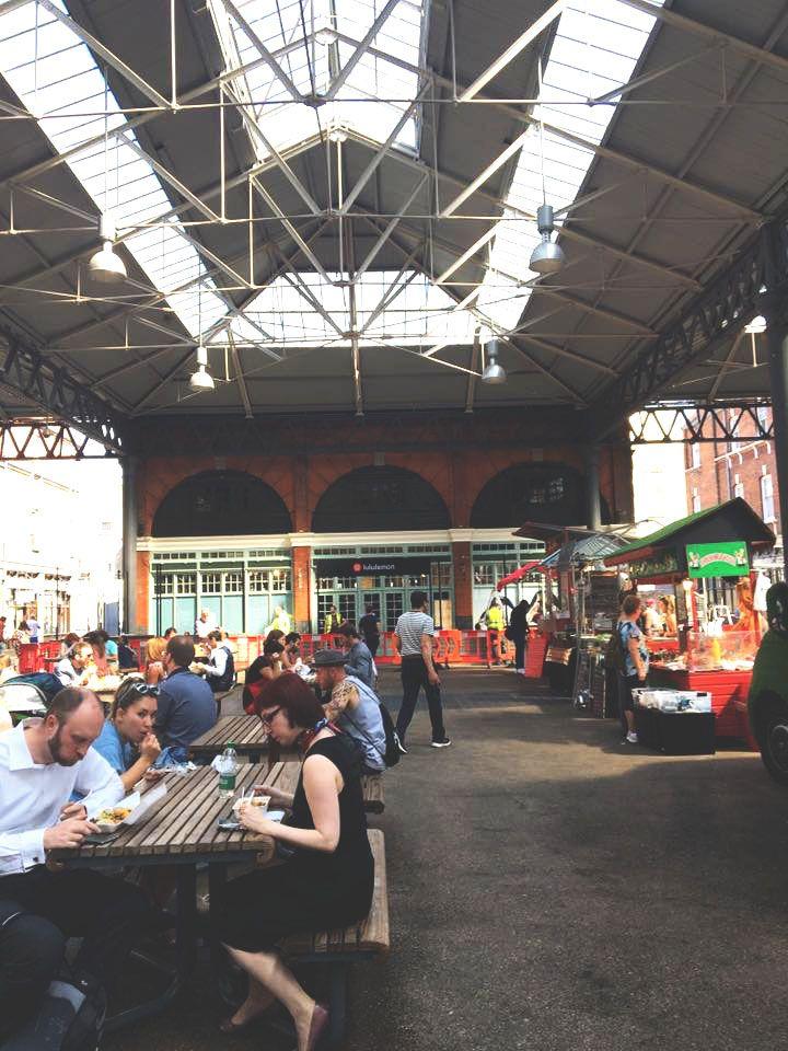 Shoreditch Market: Inside Old Spitalfields Market In London, UK Near