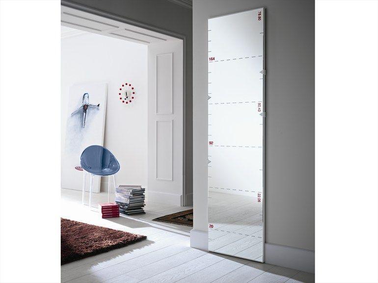 Tonelli Mobili ~ Rectangular mirror with centimeters and inches righello by tonelli