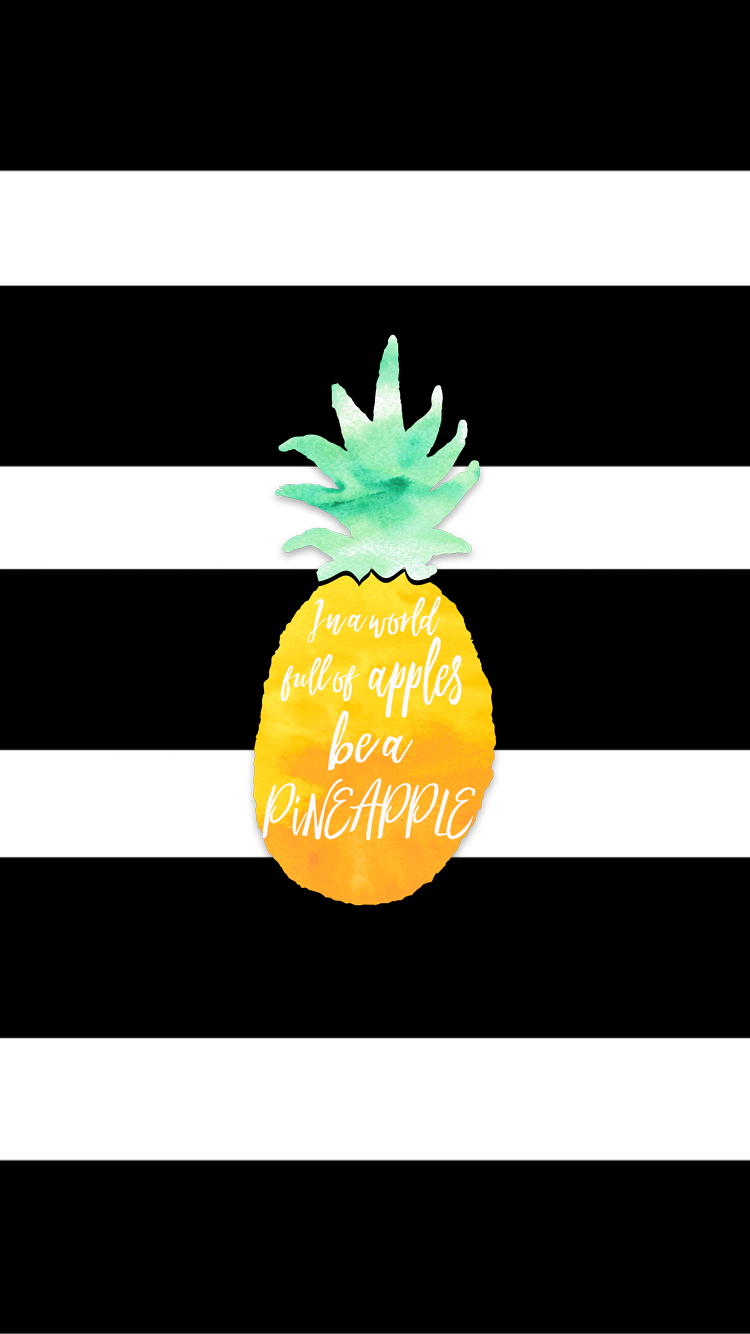 new pineapple iphone wallpaper freebie free iphone and