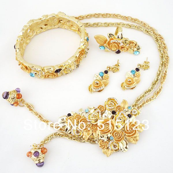 fashion costume necklace jewelry new design jewelry african gold