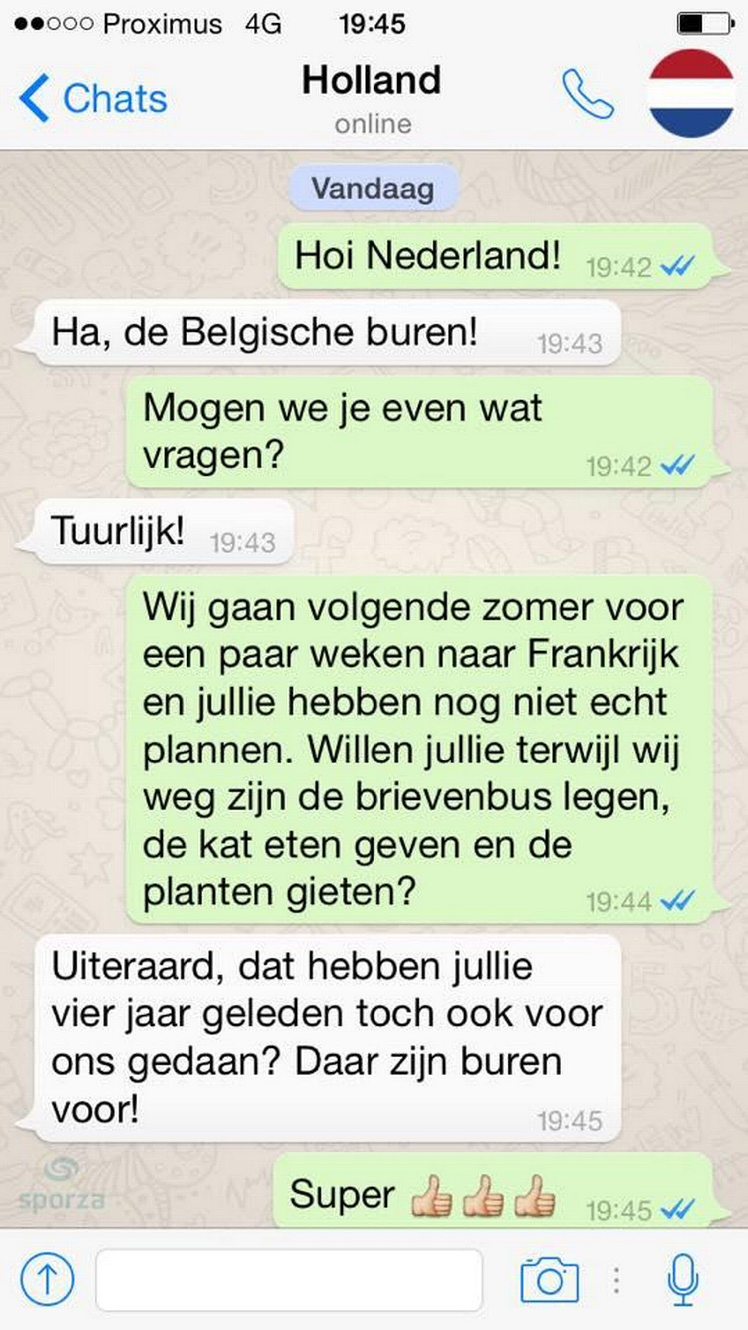 Flirten over whatsapp