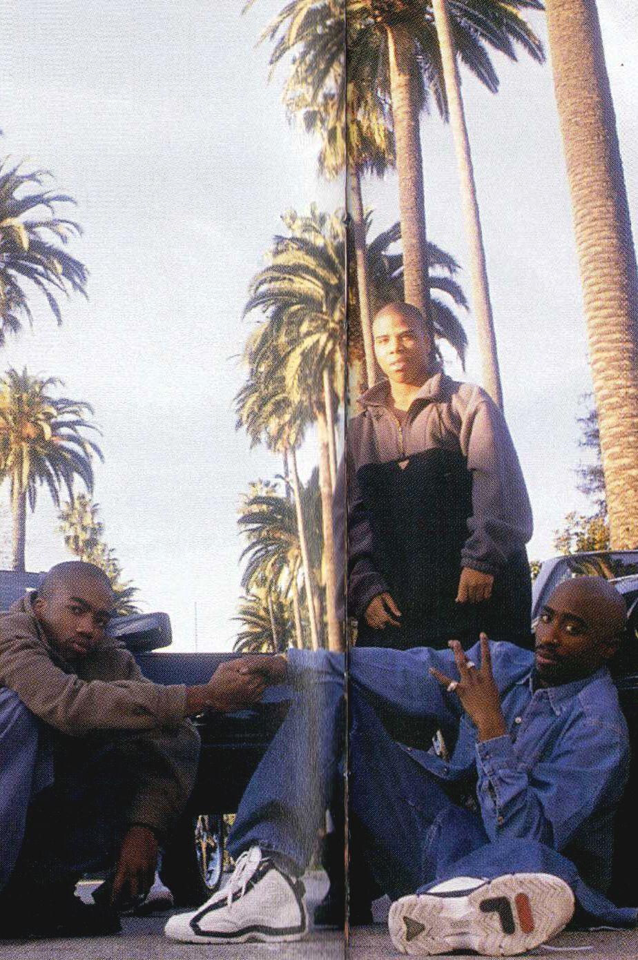 Kastro, Napoleon & Tupac Shakur (RIP) Outlawz | Rap musik