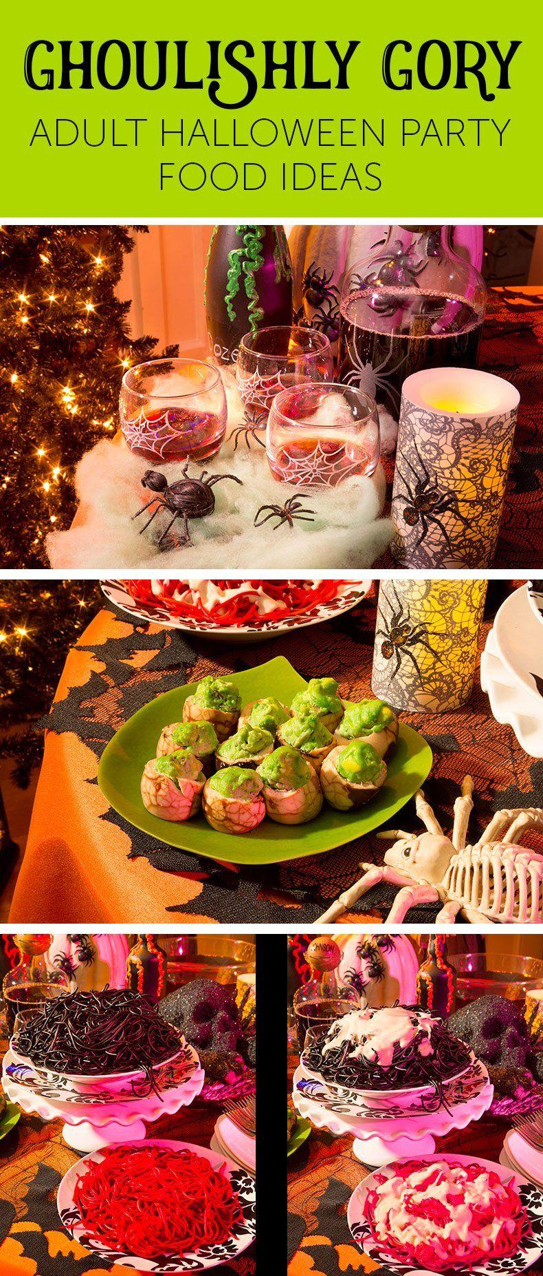 Halloween Food Ideas for an Adult Halloween Party Easy