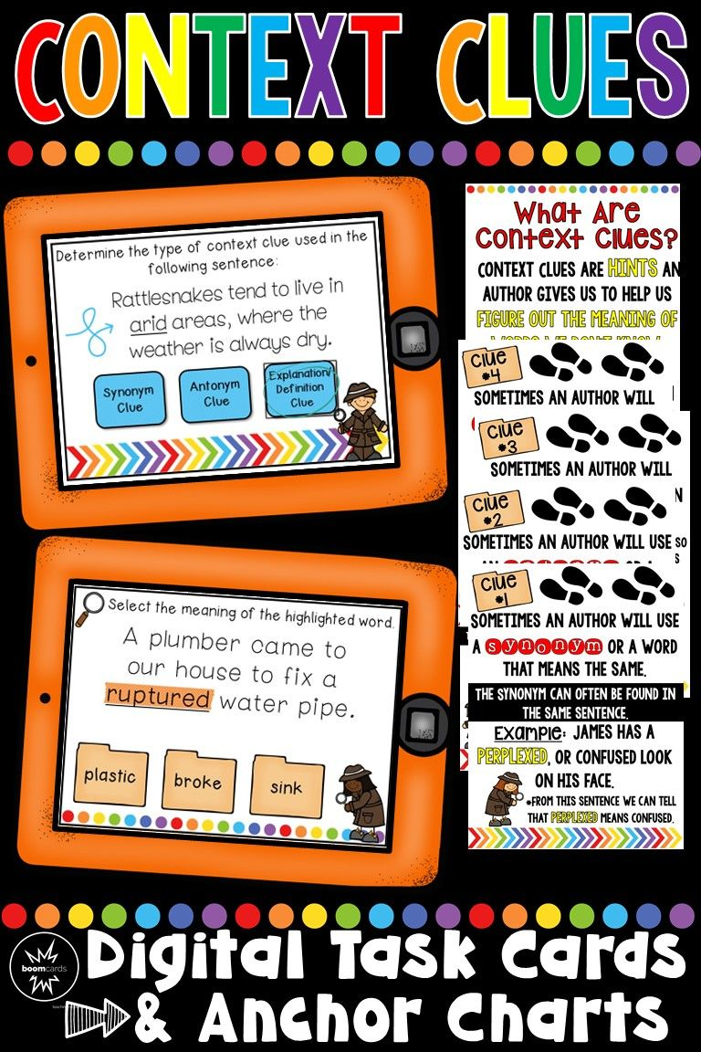 A Fun And Engaging Way To Teach Context Clues To Your 2nd Grade 3rd Grade Or 4th Grade Stude Context Clues Context Clues Activities Context Clues Third Grade If you know synonyms for figure out, then you can share it or put your rating in listed similar words. pinterest