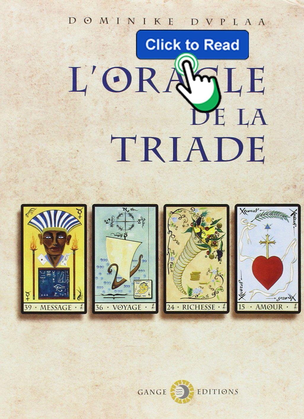 Livre Oracle De La Triade Pdf Gratuit : livre, oracle, triade, gratuit, Livres*, L'Oracle, Triade, Téléchargement, Gratuit, Livre, Oracle, Cards,, Cards