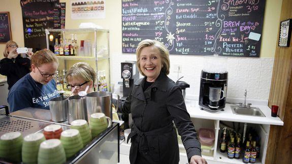 Breaking: Hillary Clinton is not a fan of the pumpkin spice latte