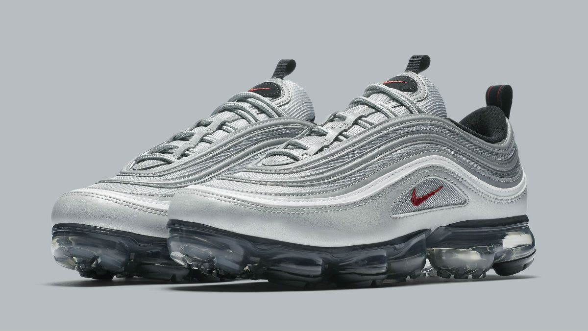cheaper ffd35 5106f The 'Silver Bullet' Nike Air VaporMax 97 will release on ...