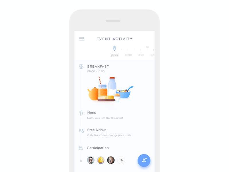 Event Activity Timeline  Timeline Ui Ux And Mobile Ui