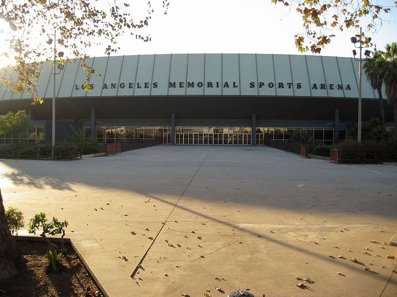 Los Angeles Sports Arena Los Angeles, California. Old Los