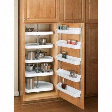 Door Storage Shelf Sets, Rev-a-Shelf 6235 Series-7-7/8″ Wide