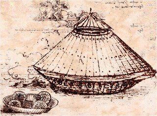 Máquina de guerra diseñada por Leonardo Da Vinci