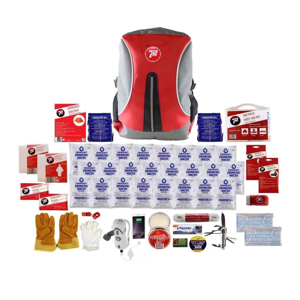 Deluxe 2 Person Backpack Earthquake Kit