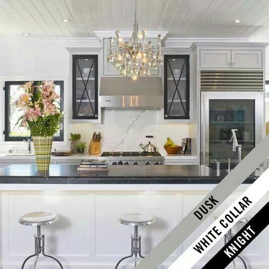 Dusk Colored Kitchen Cabinets: Jeff Lewis Design, White Kitchen