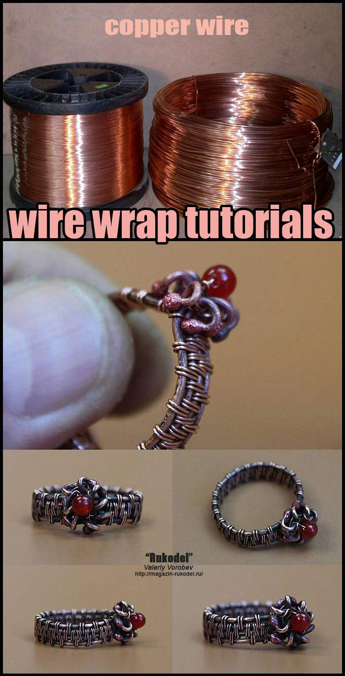 Photo of Wire Weaving Basics – Ring. Wire wrapping tutorial.
