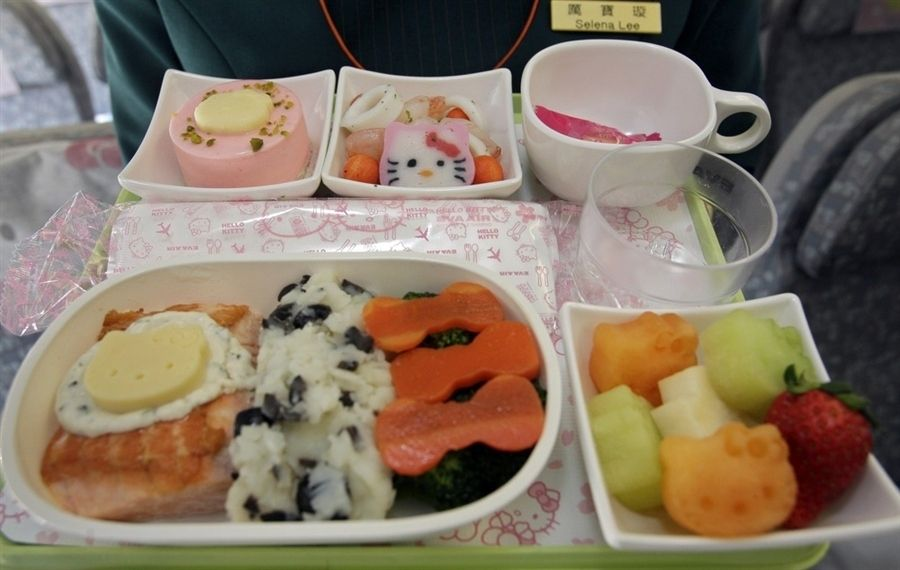 A Closer Look Inside Hello Kitty Airlines Taiwan Based Eva And Sanrio The Company That Owns Brand Collaborated To Launch