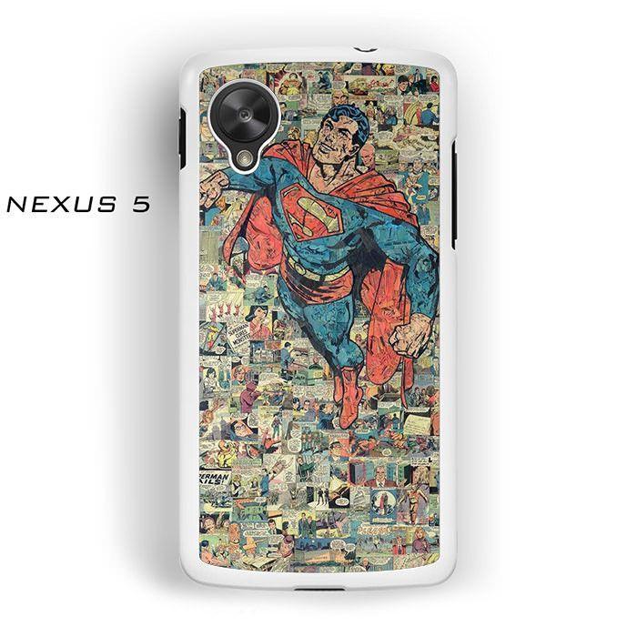 Superman Cartoon Vintage for Nexus 4/Nexus 5 phonecases