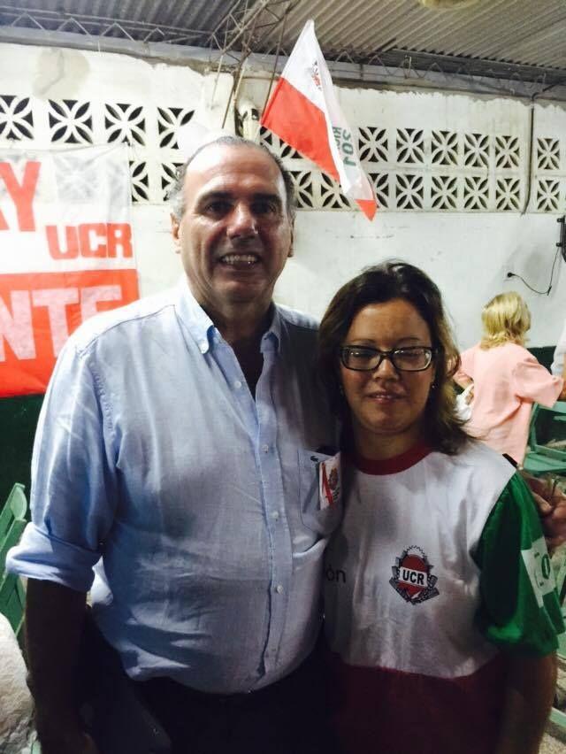 ASUNCIÓN AUTORIDADES DE LA UCR DE LA SEXTA SECCIÓN Muchas felicidades Mario Alzugaray y delegada Paola Escobar por la juventud! #AdelanteRadicales